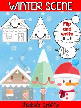 Winter Scene - Jackie's Craft Bundle,  Activity, Activities, Christmas, Snowman