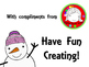 (Fresh Freebie) Winter Scene Clipart (Personal & Commercial Use)