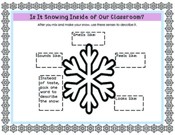 Winter Science Activities