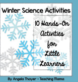 Winter Science Activities for Little Learners