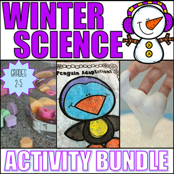 Winter Science Activity Bundle