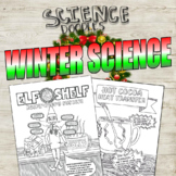 Winter Science Coloring Pages- Variety Pack!