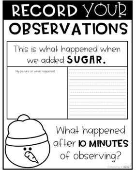 Winter Science Experiment