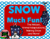Winter Science Pack (The Mitten, Making Snow, Winter Adapt