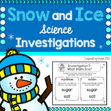 Winter Science (Snow and Ice Investigations)