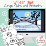Winter Science Unit: Winter Weather, Animals in Winter, Wi