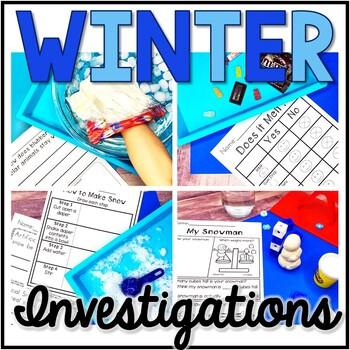 Winter Science, Winter Investigation, Winter Exploration, STEM