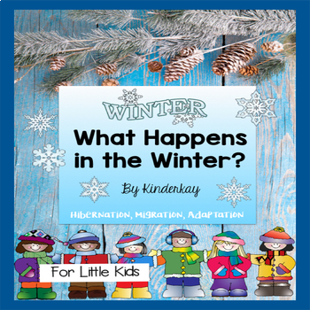 Winter Science and Literacy Packet for Little Kids