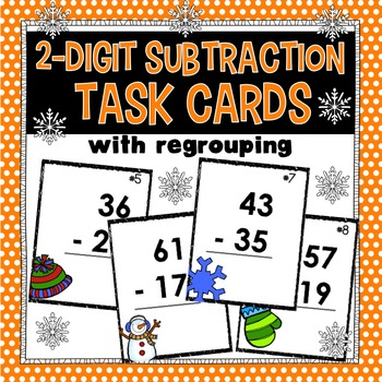 2-Digit Subtraction (with regrouping)