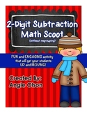 2-Digit Subtraction (without regrouping) Task Cards