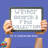 Winter Search and Find for Articulation and Verbs BOOM COLLECTION