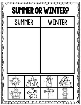 Winter Season Activities