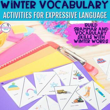 Winter Season Grammar & Vocabulary Pack
