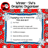 Winter / Seasonal 5W's and an H Graphic Organizer