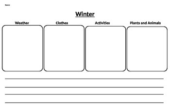 Winter Seasonal Changes