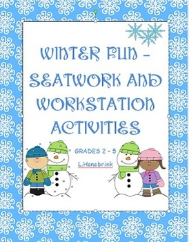 Winter Seatwork and Workstation Activities