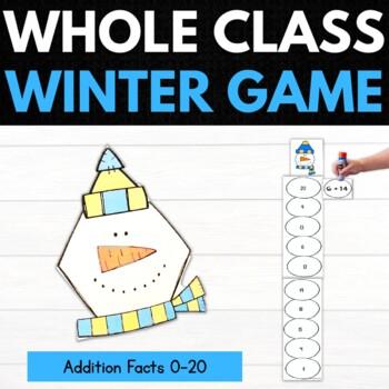 Winter 2nd Grade Math Puzzles