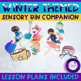 Winter Sensory Bin Companion For Speech & Language