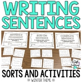 Winter Sentence Activity Pack