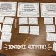 Winter Sentence Activity Pack
