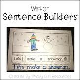 Winter Sentence Builders
