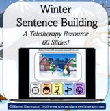 Winter Sentence Building: 60 Slide Sentence Building Resource