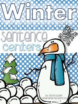 Winter Sentence Centers