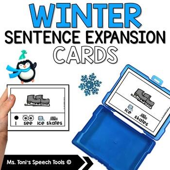 Winter Sentence Expansion Cards#jan2019slpmusthave