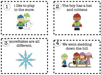 Winter Sentence Fix It