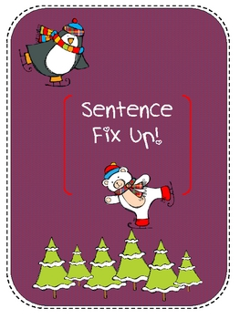 Winter Sentence Fix Up
