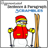Winter Sentence & Paragraph Scrambles