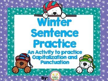 Winter Sentence Practice