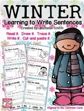 Winter Sentence Printables