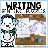 Winter Sentence Building Puzzles and Worksheets