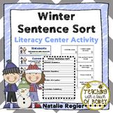 Winter Activities | Writing Center Activity | Literacy Centers | Sentence Sort