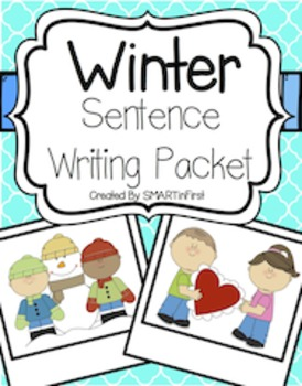 Winter Sentence Writing Packet