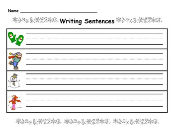 Winter Sentences Literacy Center