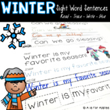 Winter Sentences {Read-Trace-Write-Glue}