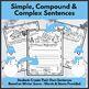 Winter Sentences - Simple, Compound and Complex
