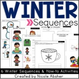 Winter Sequencing Activities with Visual Supports and Writing Prompts
