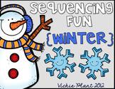 Winter Read Aloud Sequencing Activities