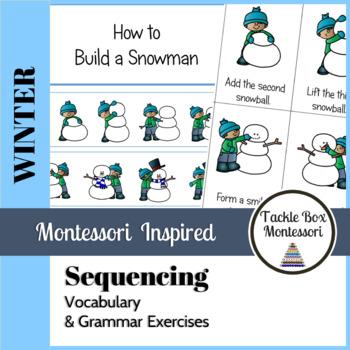 Winter Sequencing and Grammar Activities