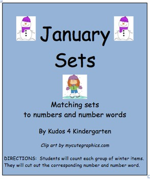 Winter Sets(Numbers and Number Words)