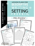Descriptive Writing Lesson FREEBIE - Winter Wonderland