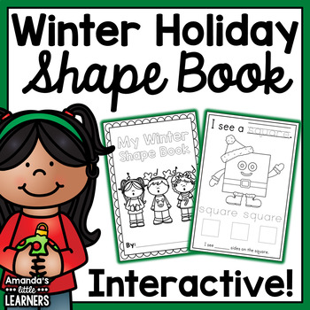 Winter Shape Book