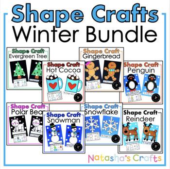 Winter Shape Crafts Growing Bundle