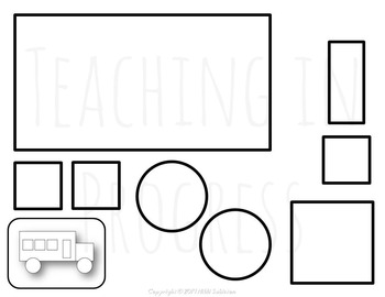 SHAPES Build-A-Picture: Back to School Edition