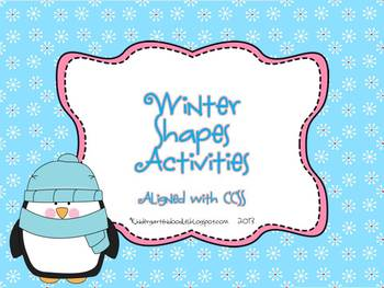 Winter Shapes Activites