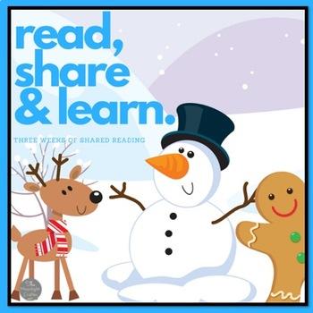Winter Shared Reading Bundle