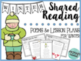 Winter Shared Reading: Poems and Lesson Plans